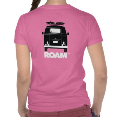 ROAM Women's Campervan T Shirt
