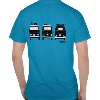 ROAM Apparel VW Westy Campervans T-shirt